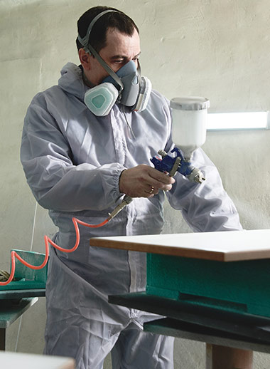 Type 5-6 Microporous Coverall